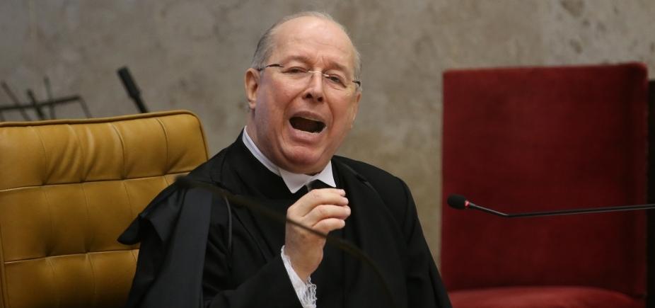 Celso de Mello decide arquivar ação contra deputado após 10 anos