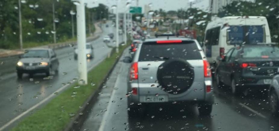 Defesa civil registra 132 ocorrências devido às chuvas em Salvador