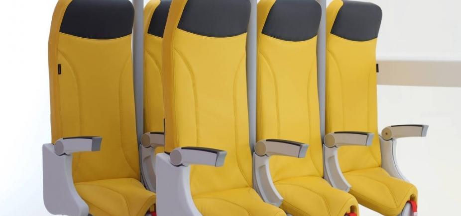Empresa cria poltronas de avião ainda menores