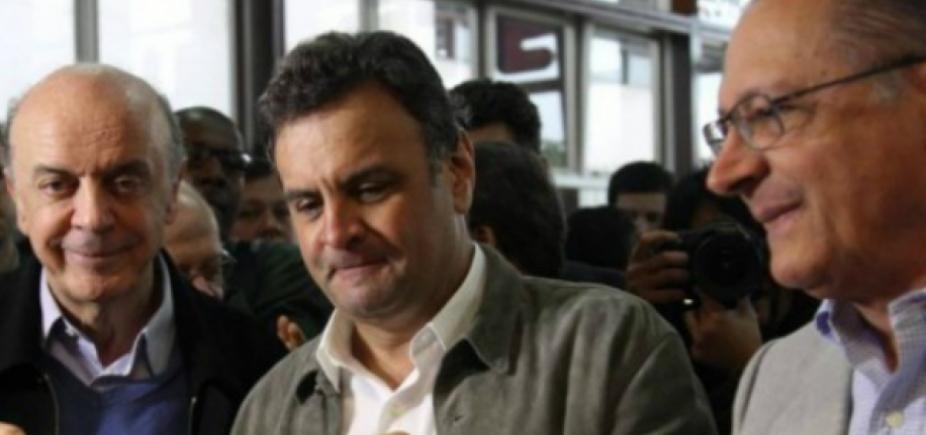 Rivais avaliam que PSDB afasta eleitor de Alckmin; Aécio se vê como 'bola da vez'