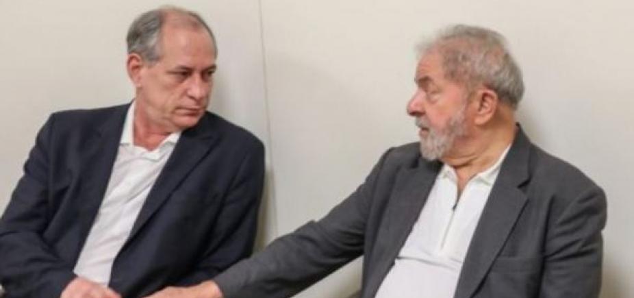Lula cita ʹrelação de amizadeʹ para receber Ciro Gomes na prisão
