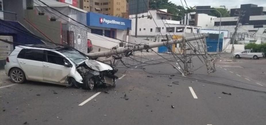 Comércio do Rio Vermelho tem prejuízos de até R$ 8 mil com acidente