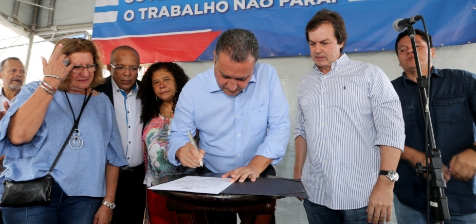 Rui autoriza início de obra de contenção de encosta no bairro de São Caetano