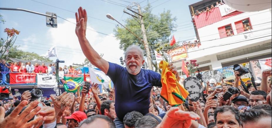 Em carta, Lula se diz feliz com pesquisa e que anseia a liberdade