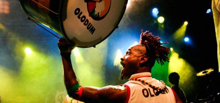 Olodum comemora 39 anos com show especial no Pelourinho