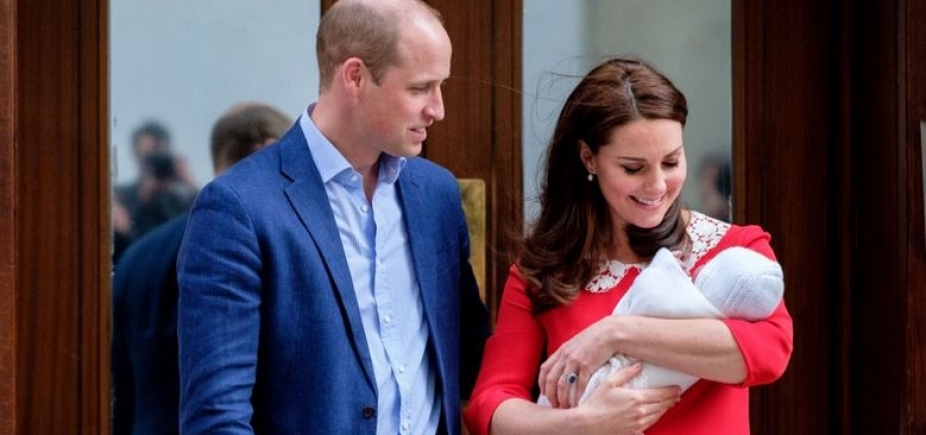 Família Real divulga nome do nome do 3º filho de Kate e William