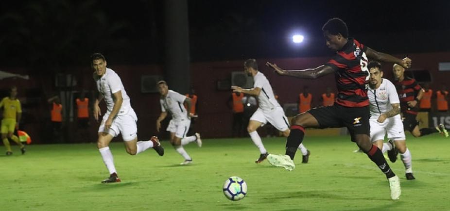 CBF define data da volta entre Corinthians e Vitória pela Copa do Brasil