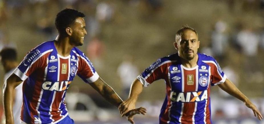 Bahia vence Botafogo-PB e fica mais perto da semi do Nordestão