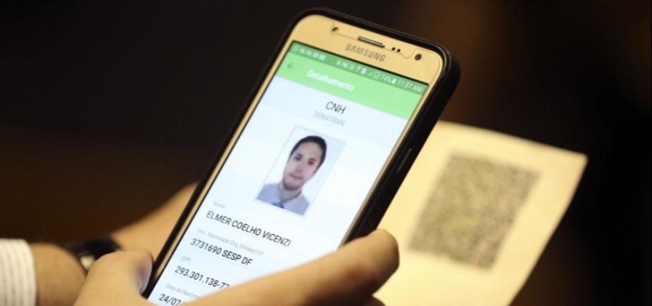 CNH digital está disponível em todo o Brasil