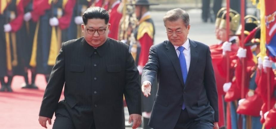 Governo brasileiro elogia encontro das Coreias