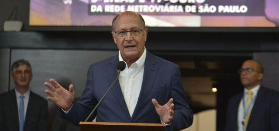 Sem citar Meirelles, Alckmin defende aliança ʹdo centro democráticoʹ