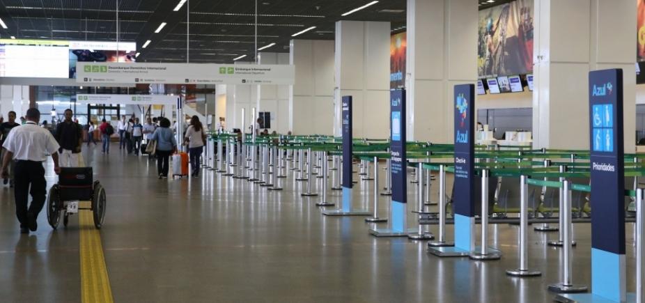 Lance mínimo no leilão de 13 aeroportos do país será de R$ 1,1 bilhão