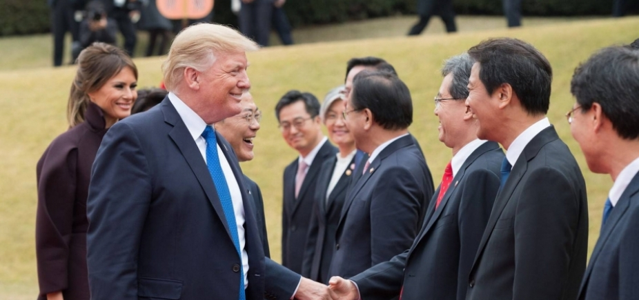 ʹHora e local do encontro com a Coreia do Norte estão sendo definidosʹ, afirma Trump