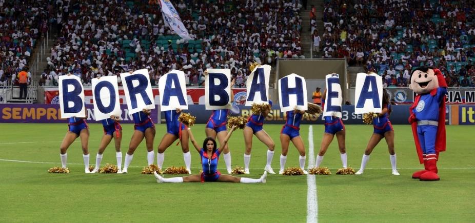 Bahia enfrenta Atlético-PR hoje na Fonte Nova; Metrópole transmite