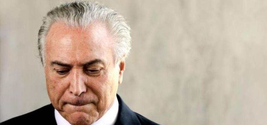 Temer antecipa retorno a Brasília para acompanhar votação no Congresso