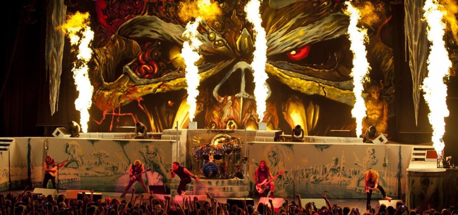 Iron Maiden pode vir a Salvador em 2019, afirma diretor da Arena Fonte Nova