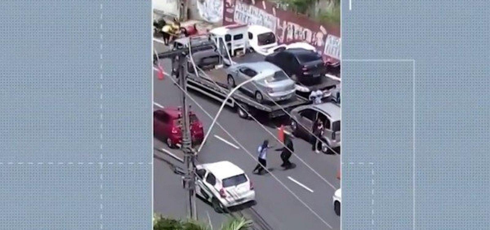 Guardas municipais suspeitos de agressão a motoboy prestam depoimento