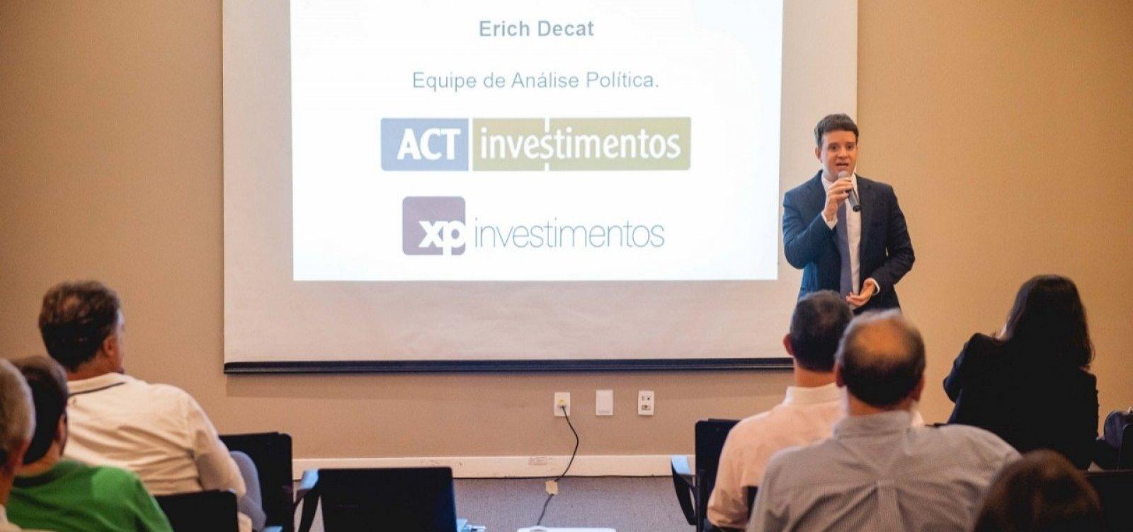 Em evento da ACT Investimentos, analista político da XP diz que Haddad pode 'aglutinar' centrão