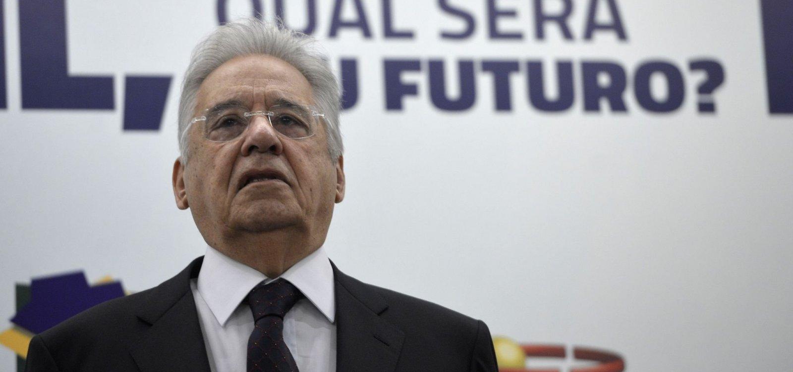 Nas redes sociais, FHC ignora candidatura de Alckmin