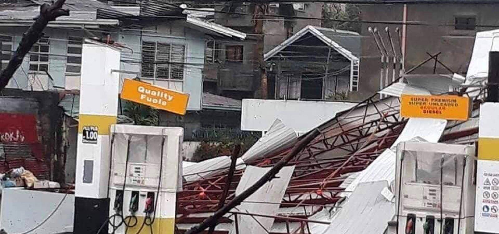 Passagem do tufão Mangkhut deixa dezenas de mortos nas Filipinas