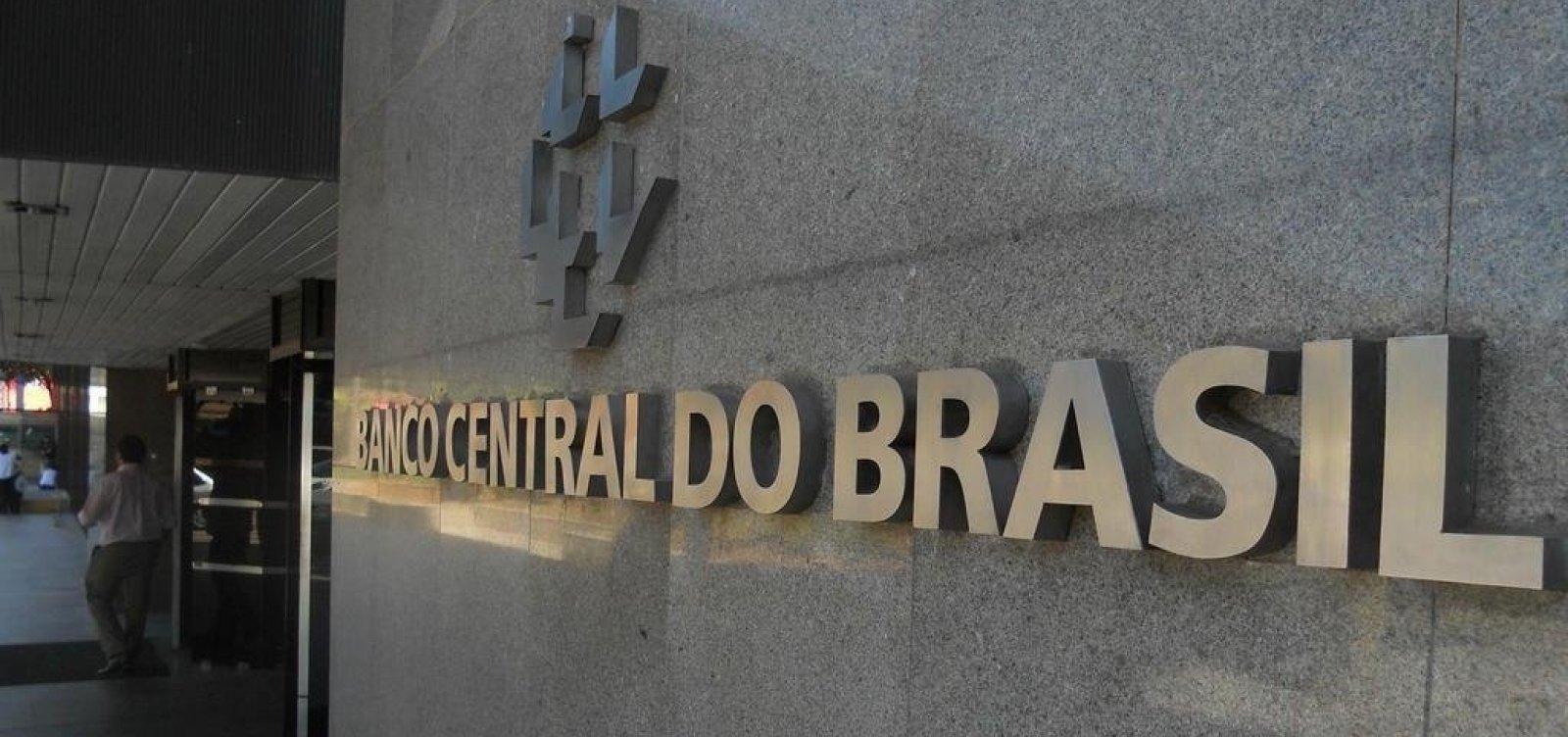 Banco Central aponta crescimento econômico de 0,57% em julho