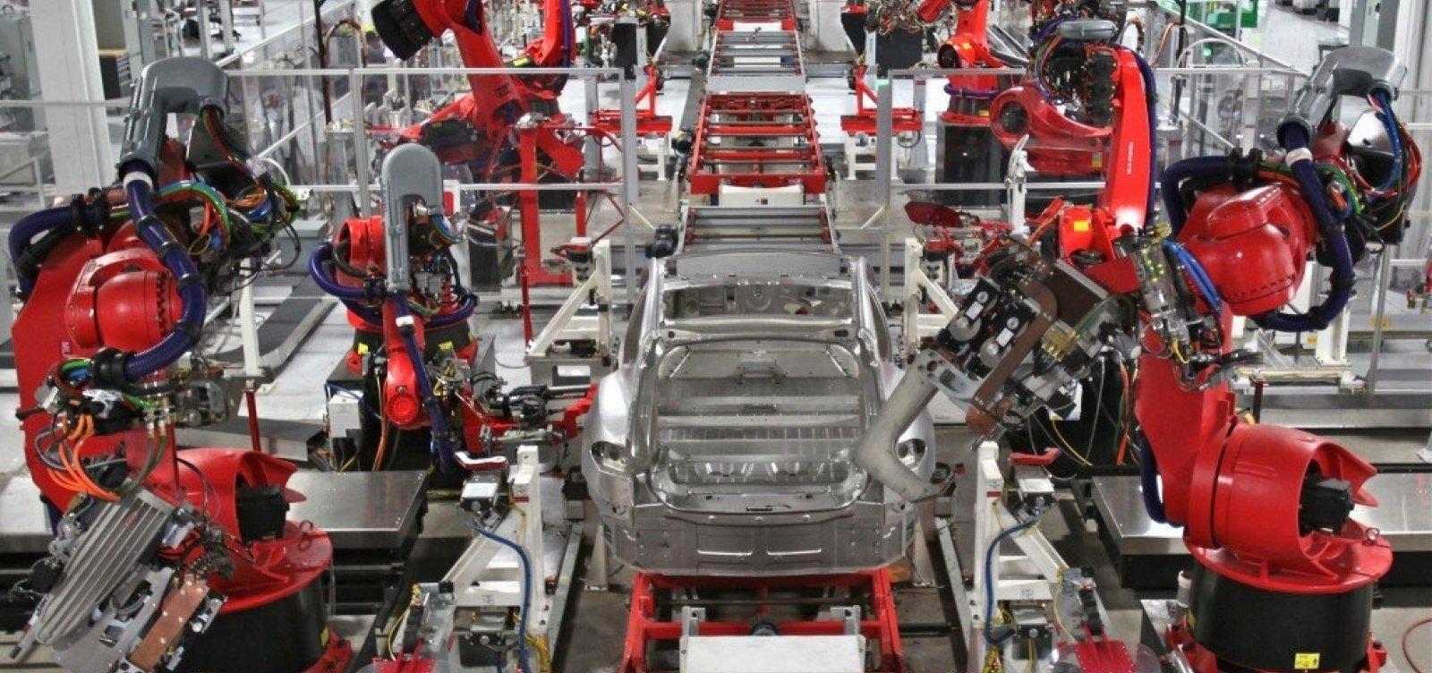 Estudo aponta que robôs farão mais tarefas que humanos em 2025