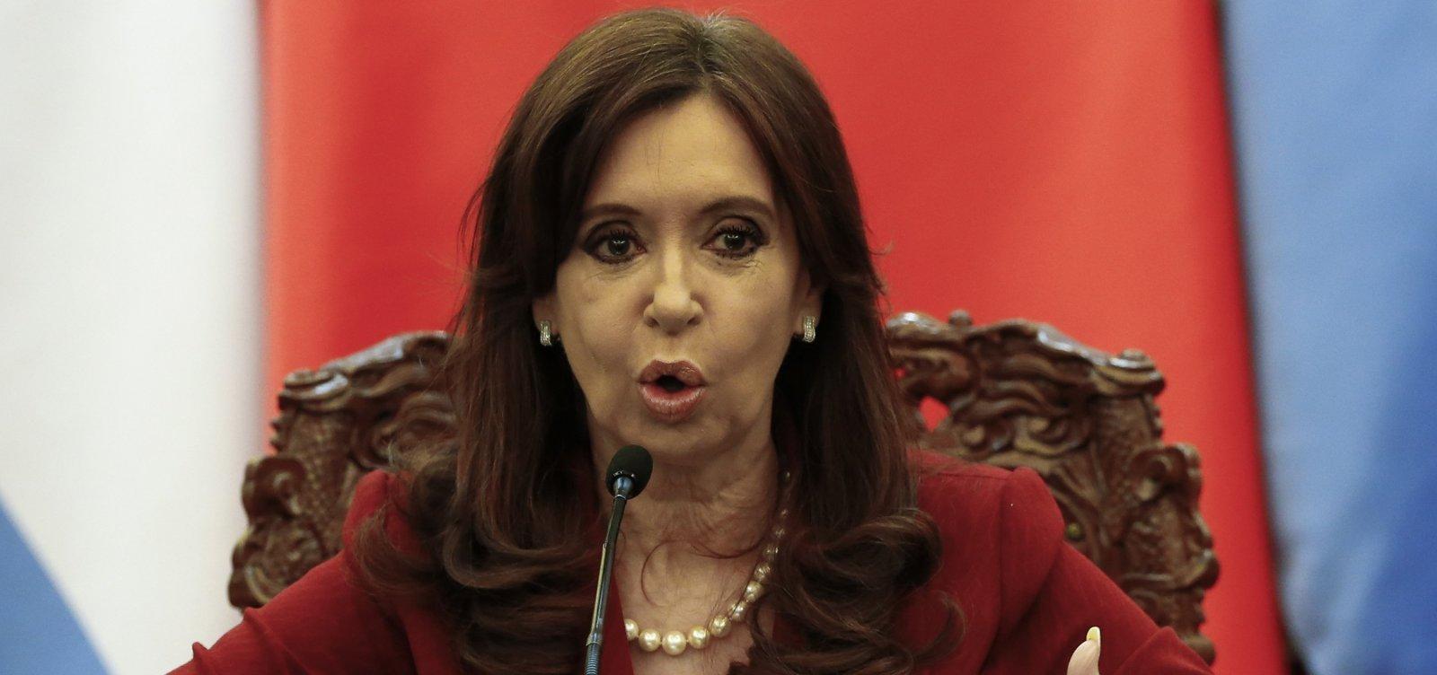 Juiz pede prisão preventiva da ex-presidente Cristina Kirchner