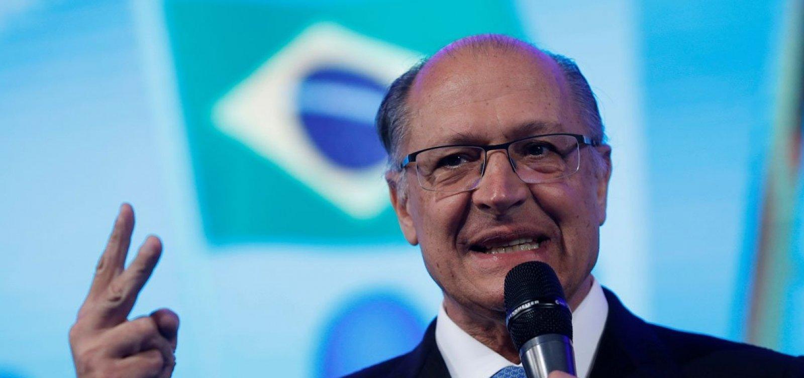 Campanha de Alckmin tem receio de fuga de aliados do 'centrão'