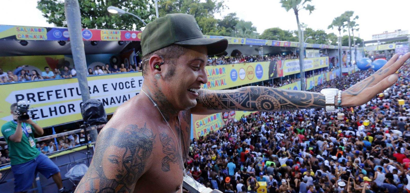 MP-BA instaura inquérito para apurar contratação de Kannário no Carnaval de Salvador