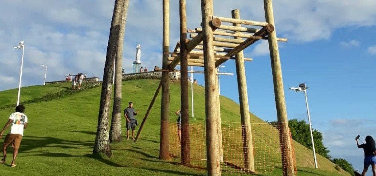 Tirolesa do Morro do Cristo da Barra será inaugurada nesta sexta