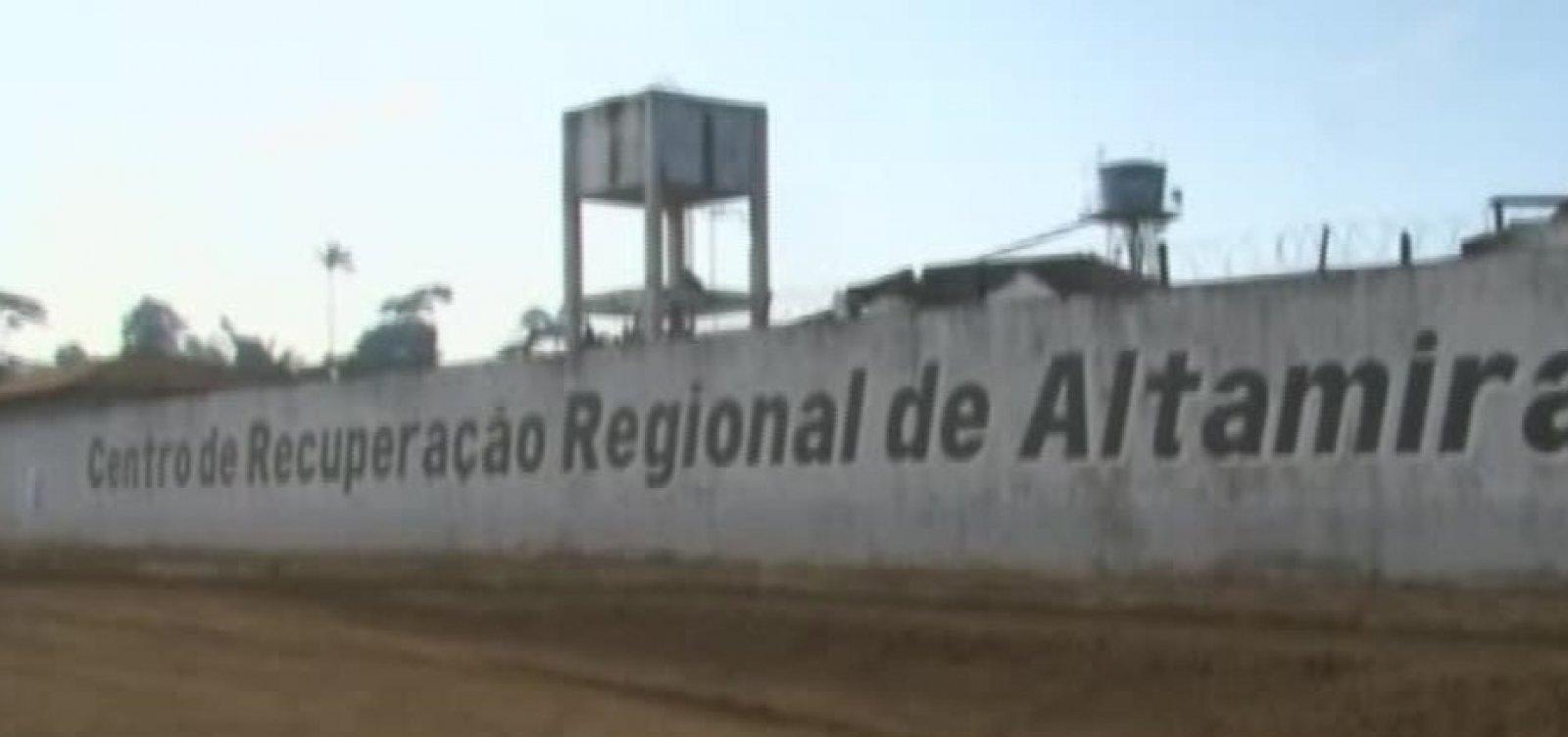 Motim em presídio de Altamira deixa 7 presos mortos