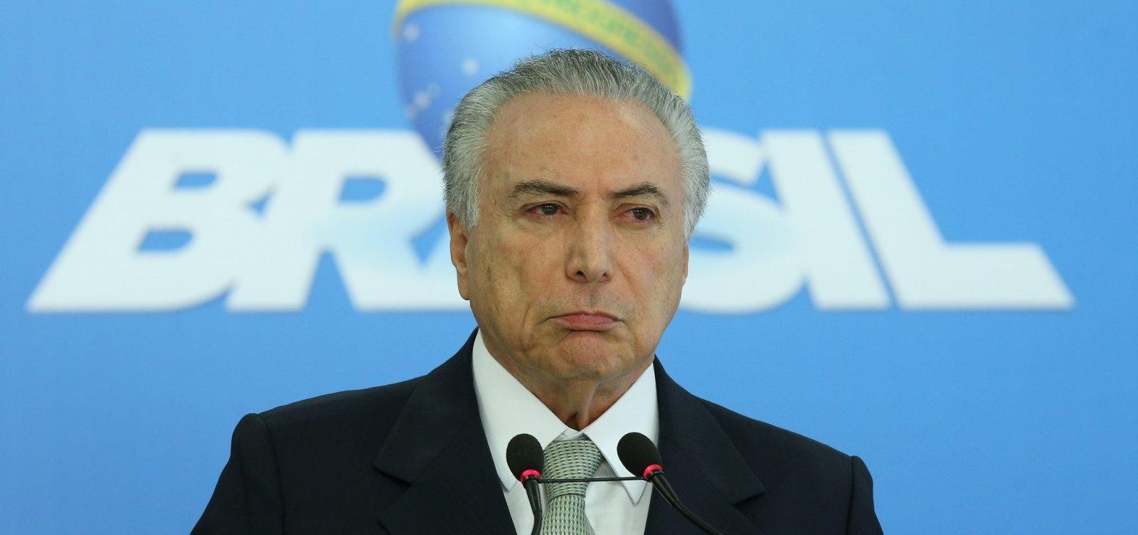 Próximo presidente terá que 'necessariamente' fazer reforma da Previdência, diz Temer