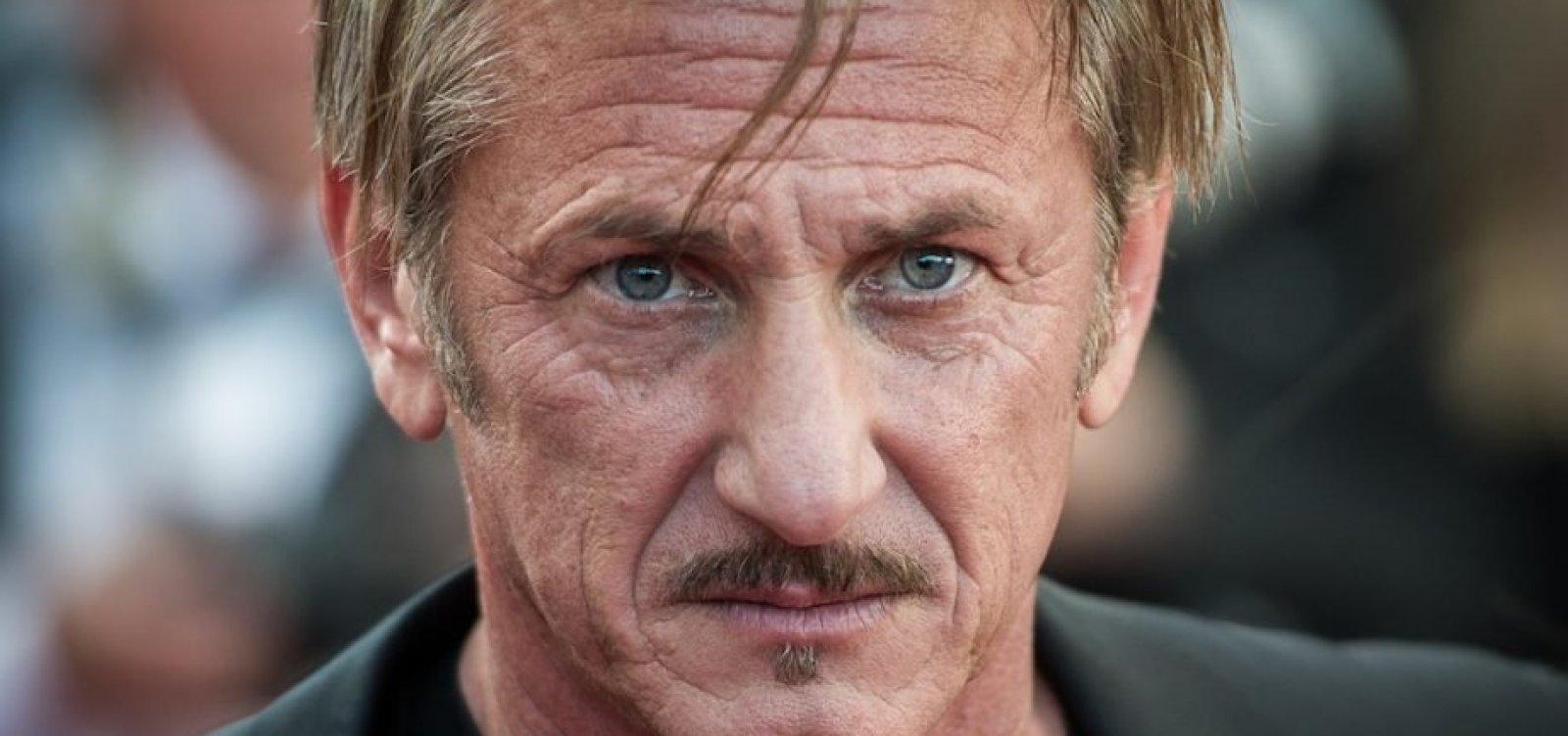 Sean Penn diz que movimento #MeToo serve para 'dividir homens e mulheres'