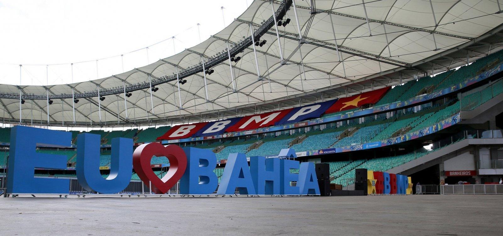 Novo contrato do Bahia com Fonte Nova prevê grama sintética e museu