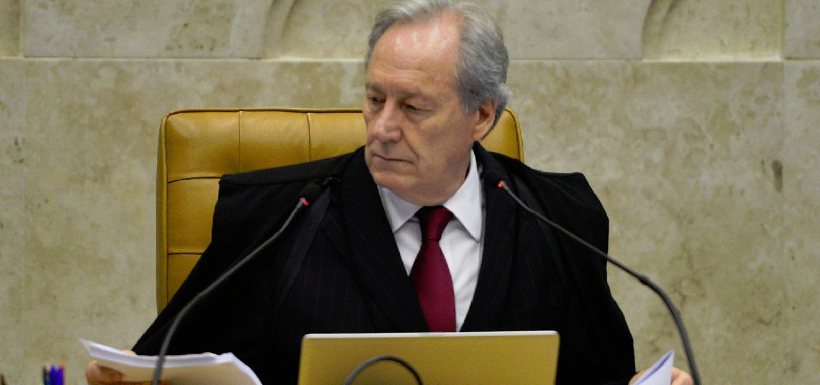 Lewandowski diz que vai 'procurar liberar' recurso de Lula até semana que vem