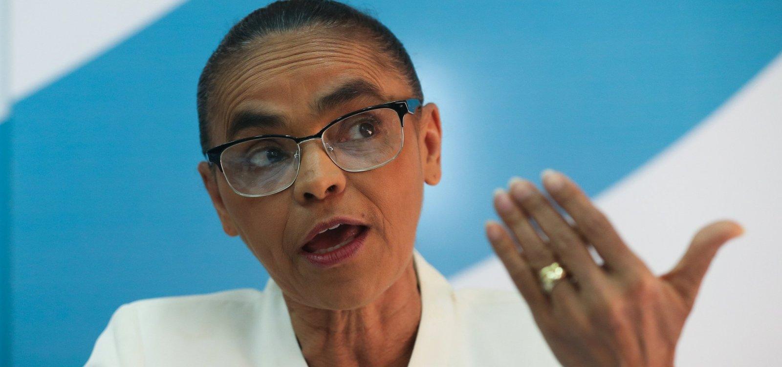 Marina diz que não abre mão de candidatura para apoiar a chapa de Centro