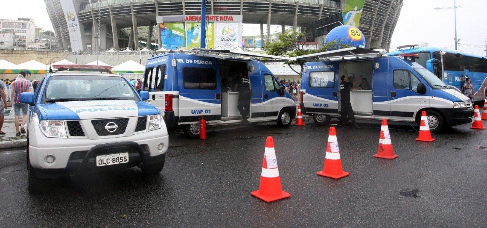 Segurança para Copa América na Fonte Nova vai contar com 1,2 mil policiais