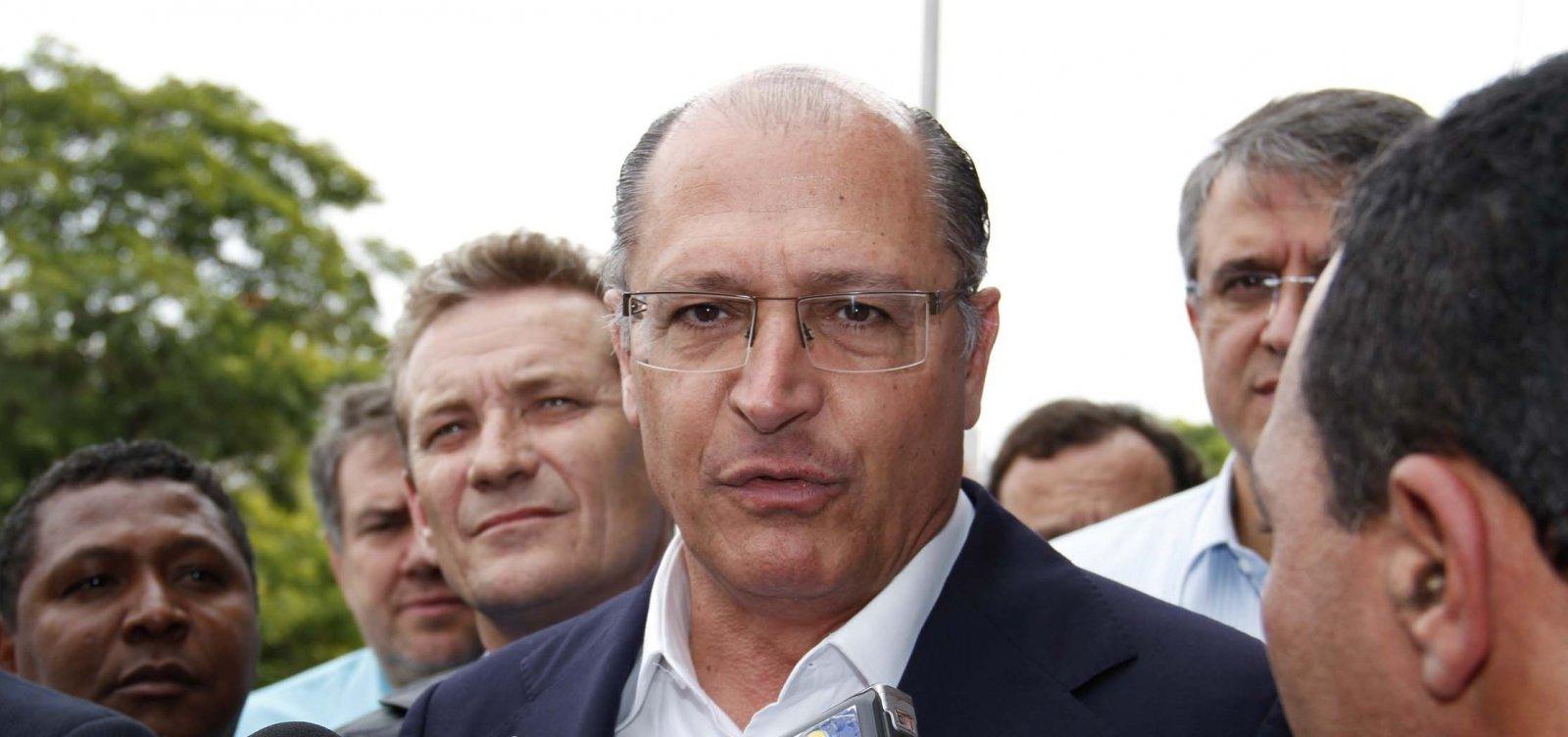 'O PT já está no segundo turno; não penso isso do Bolsonaro', diz Alckmin