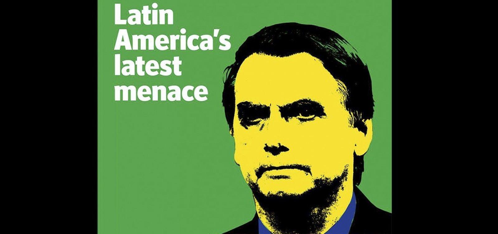 Bolsonaro é a 'mais recente ameaça na América Latina', diz The Economist