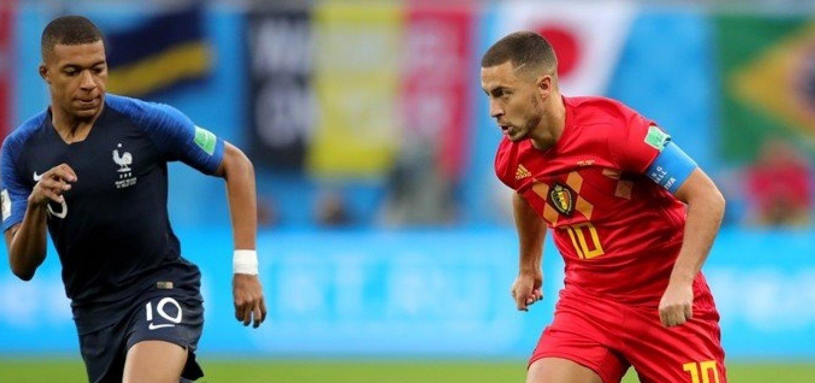 Bélgica e França dividem liderança no ranking da Fifa