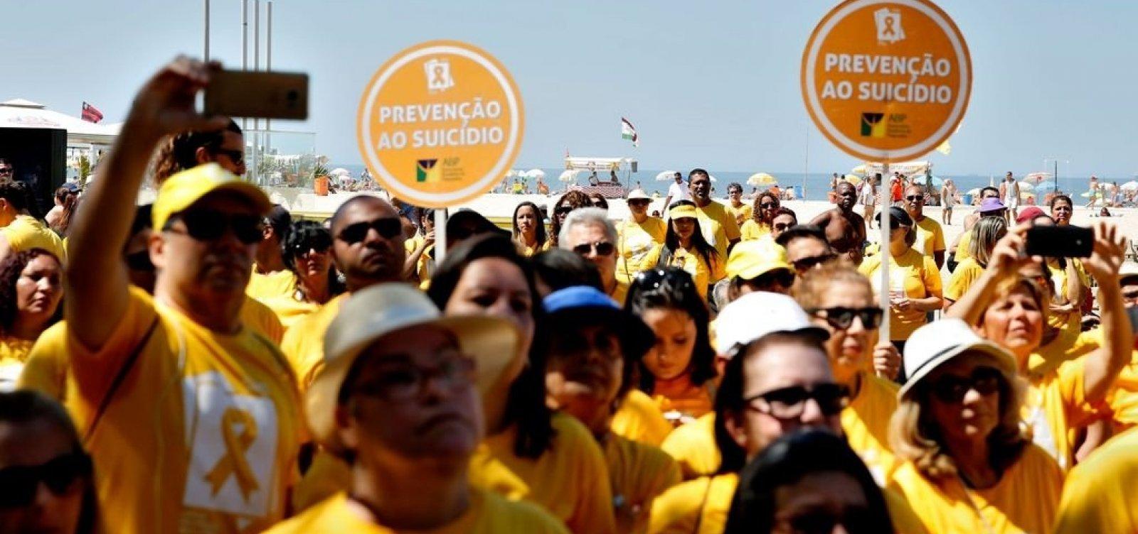 Brasil tem um caso de suicídio a cada 46 minutos
