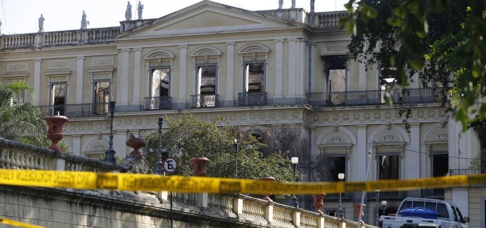 UFRJ recebe parte da verba para reforma do Museu Nacional