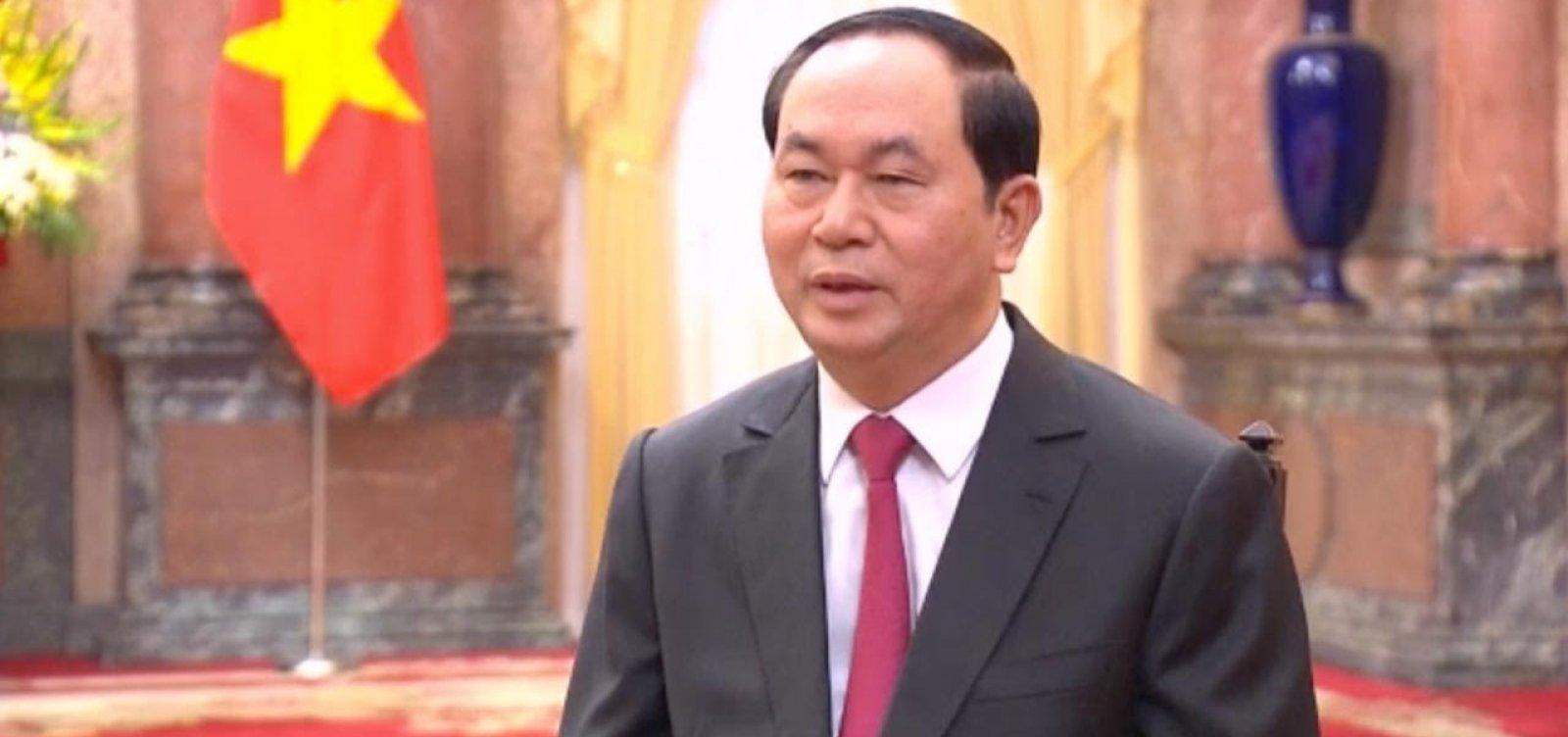 Presidente do Vietnã morre aos 61 anos em Hanói