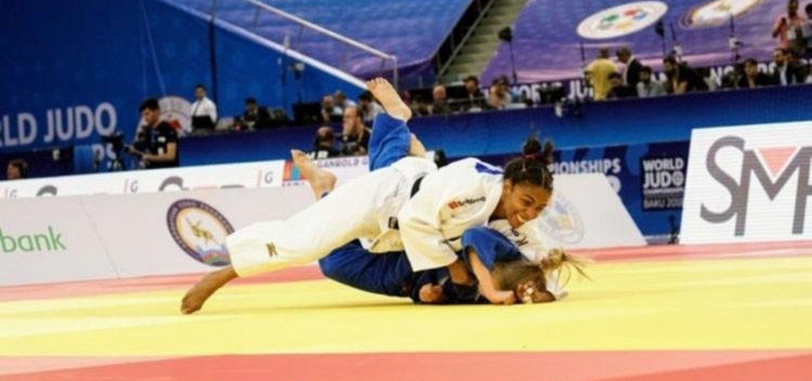 Érika Miranda conquista medalha para o Brasil em Mundial de Judô
