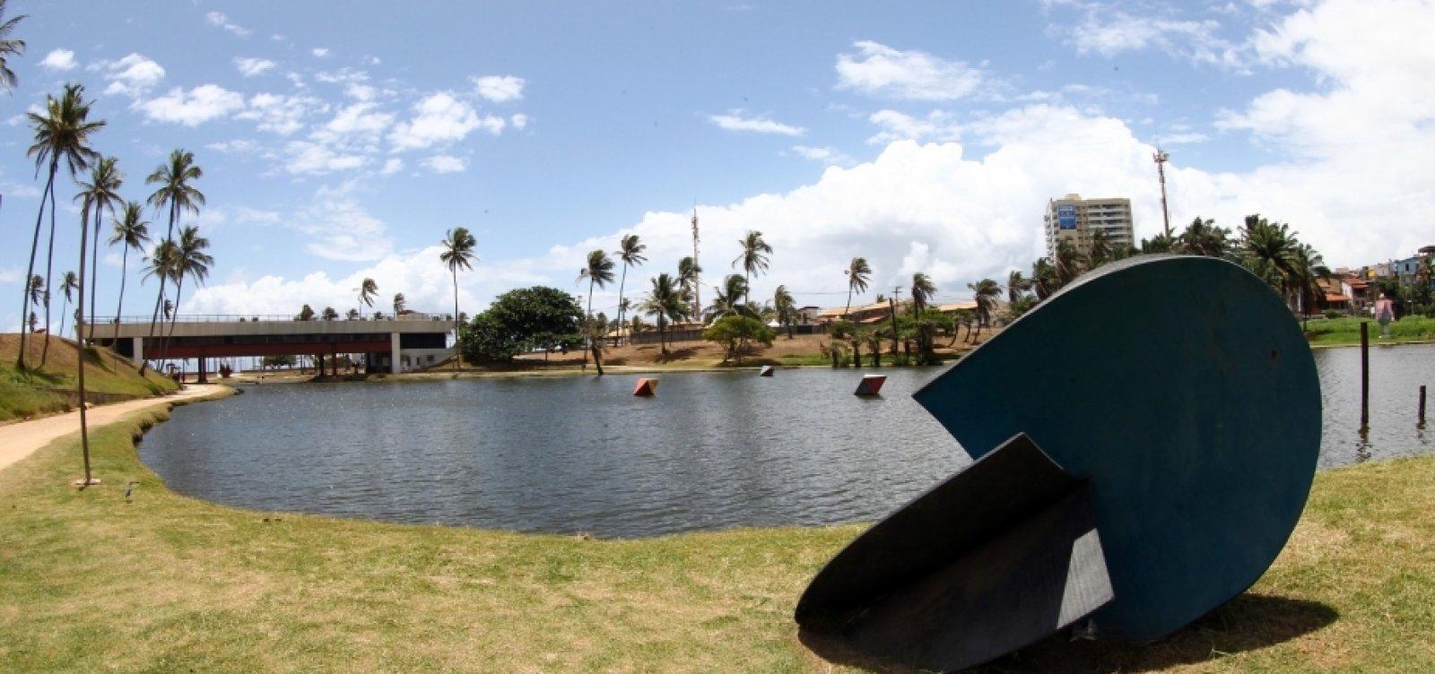 Homem morre após se afogar na lagoa do Parque de Pituaçu, em Salvador