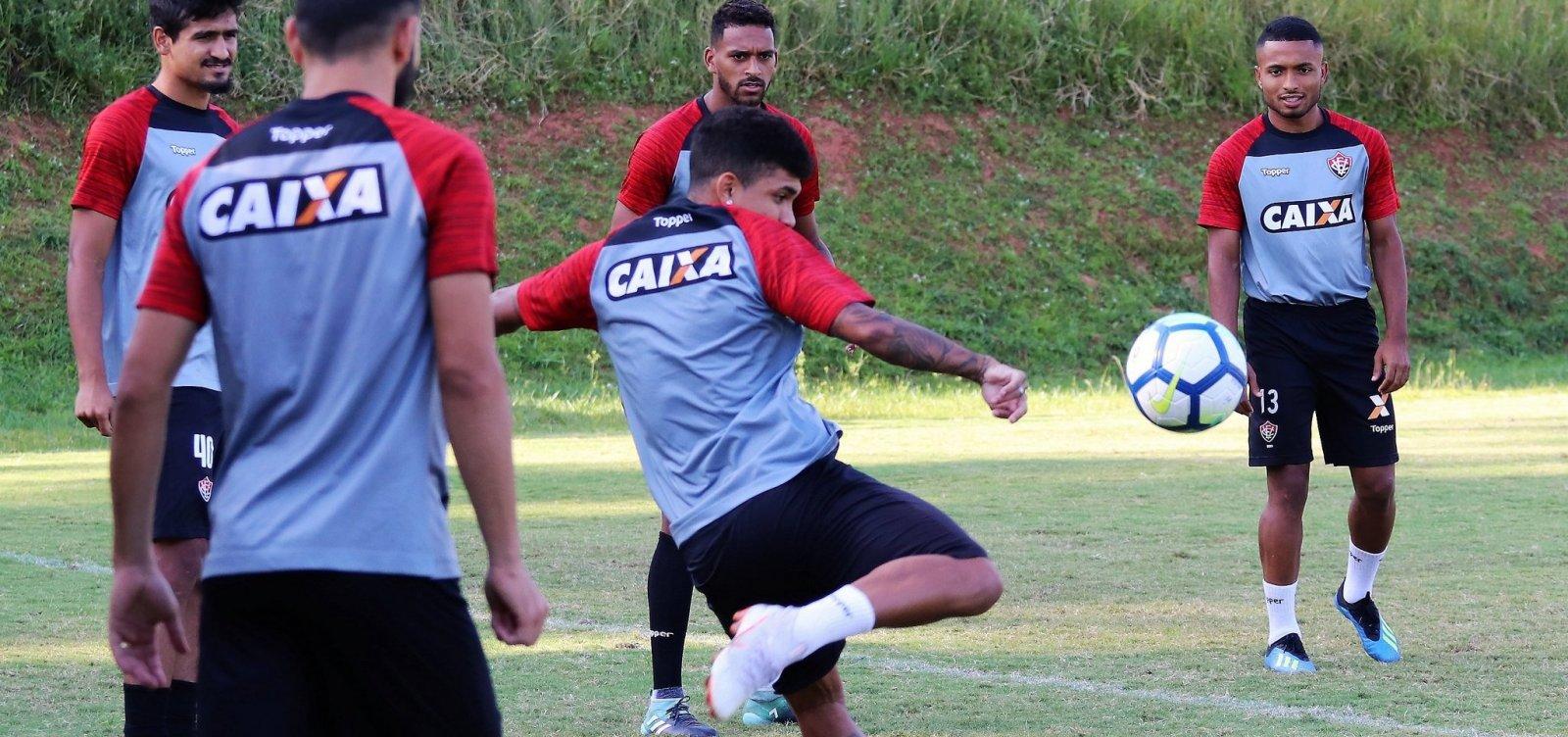 Vitória divulga relacionados para partida contra Botafogo; confira