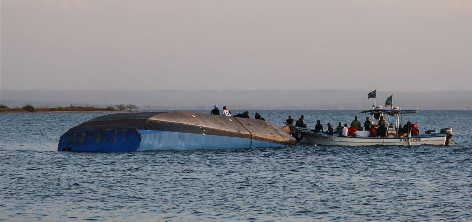 Sobrevivente de naufrágio é encontrado na Tanzânia
