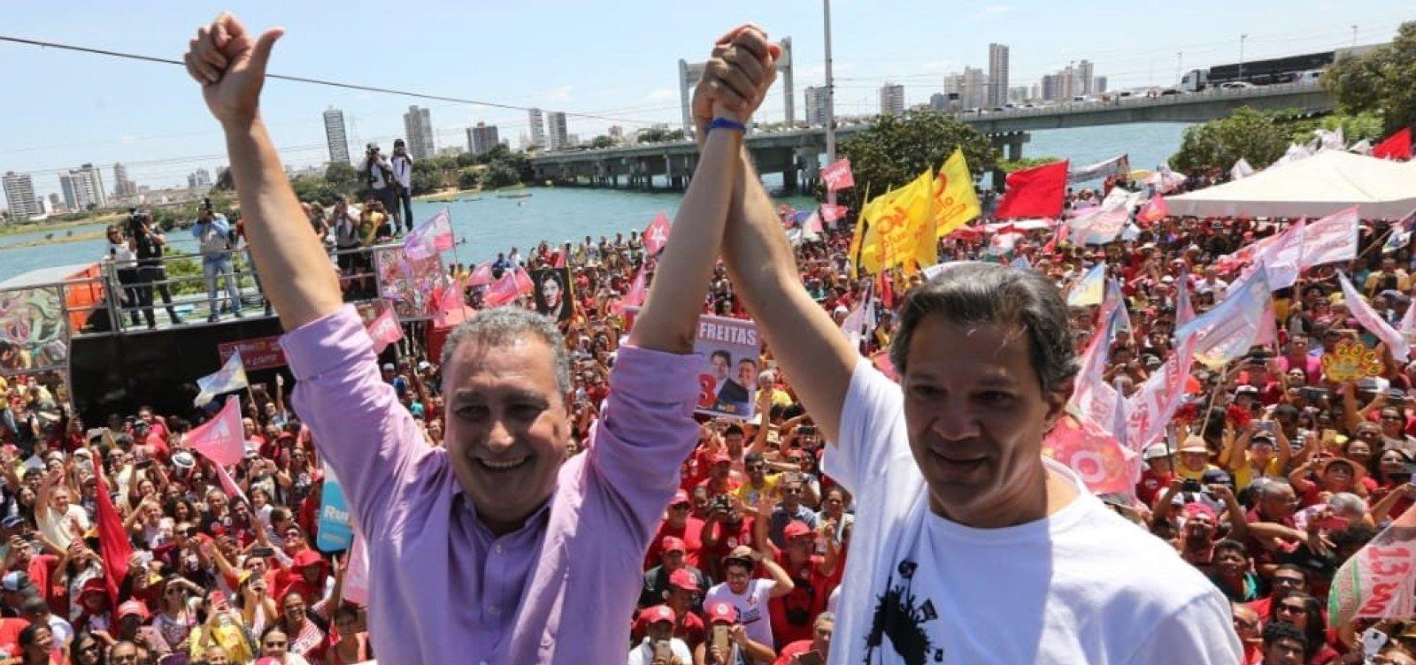 Em Juazeiro, Haddad promete 'intensificar' recuperação das nascentes do Rio São Francisco