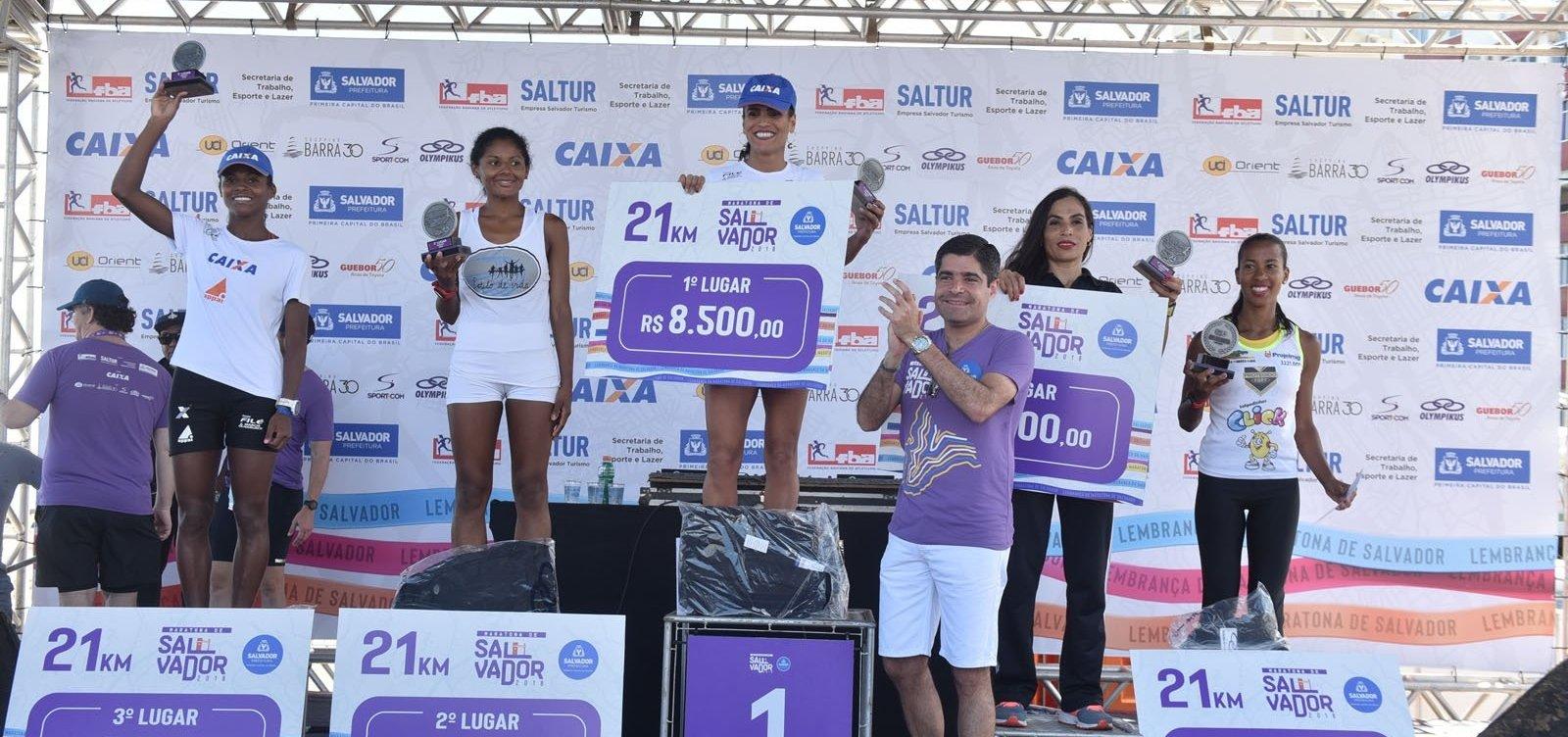 Maratona de Salvador garante R$ 163 mil em premiações