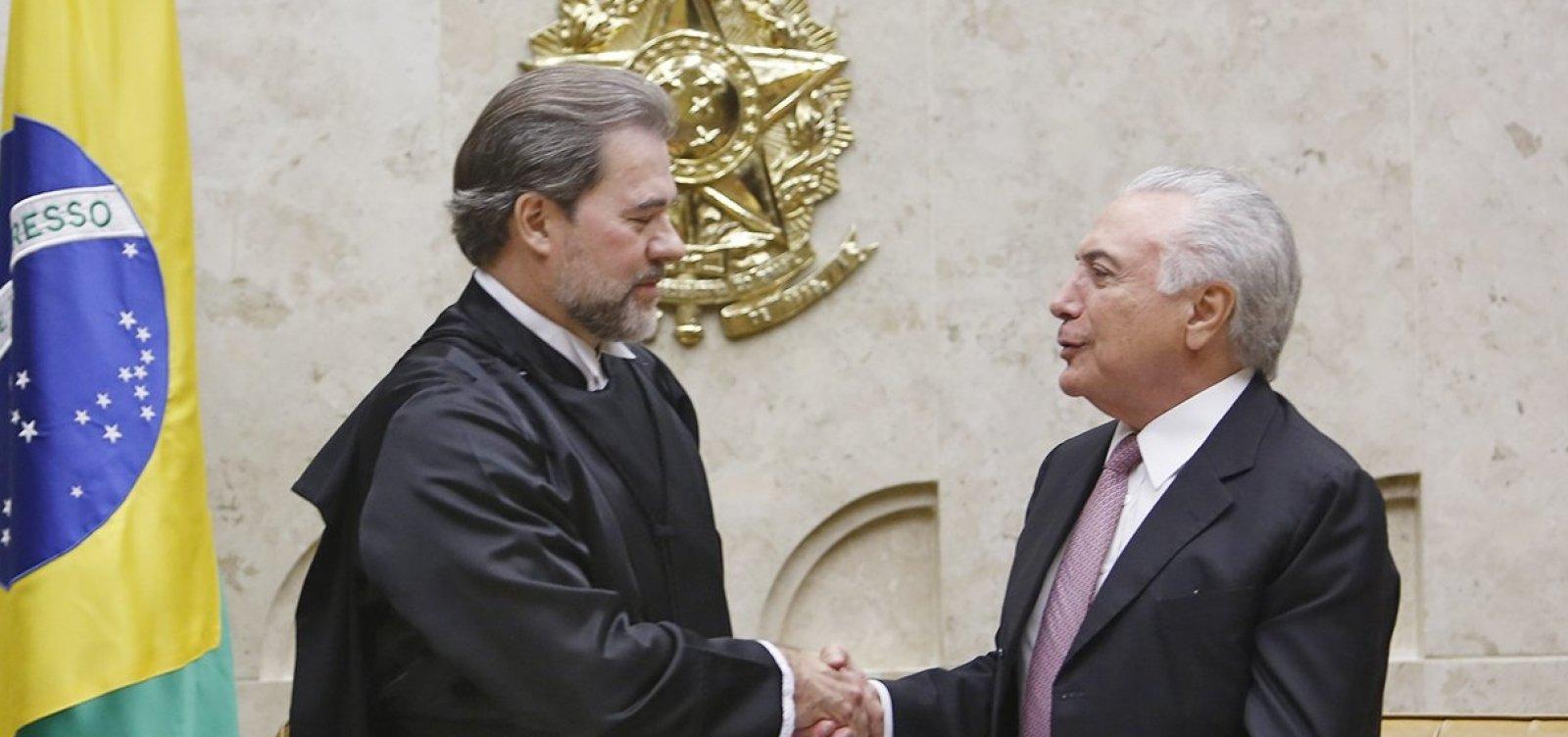 Temer transfere Presidência para Toffoli e viaja para Assembleia da ONU